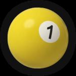 Бильярдный шар 1