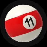 Бильярдный шар 11