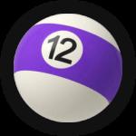 Бильярдный шар 12