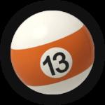 Бильярдный шар 13