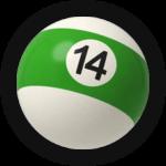 Бильярдный шар 14