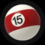 Бильярдный шар 15
