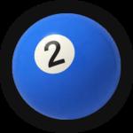 Бильярдный шар 2