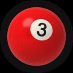 Бильярдный шар 3