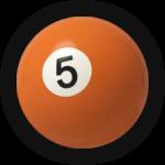 Бильярдный шар 5